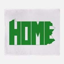 Pennsylvania Home Throw Blanket