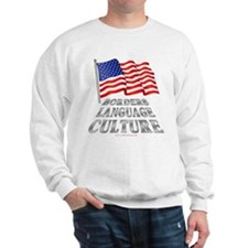 Borders Language Culture Sweatshirt