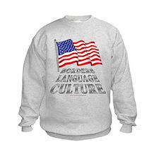 Borders Language Culture Sweatshirt