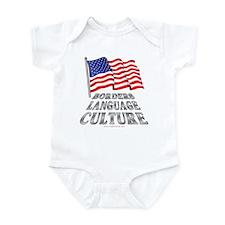 Borders Language Culture Infant Bodysuit