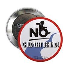 No Child Left Behind! Button