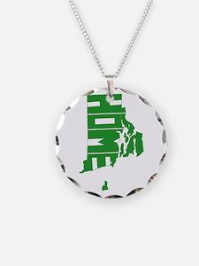 Rhode Island Home Necklace