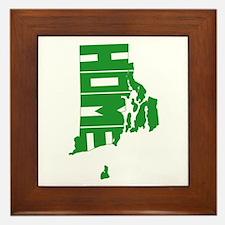 Rhode Island Home Framed Tile