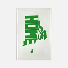 Rhode Island Home Rectangle Magnet