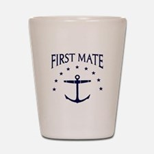 First Mate Shot Glass