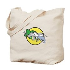 Horned Warrior Friends Tote Bag