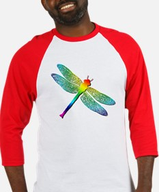 Rainbow Dragonfly Baseball Jersey