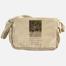 Happiness is a Butterfly Messenger Bag