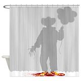 Evil clowns Shower Curtains