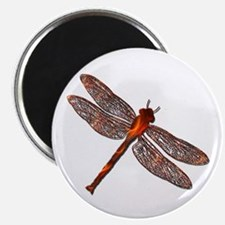 Fire Dragonfly Magnet