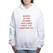 baking Women's Hooded Sweatshirt