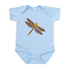 Golden Dragonfly Infant Bodysuit