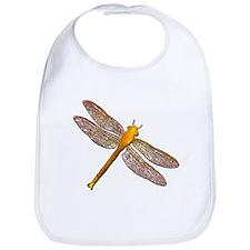 Golden Dragonfly Bib