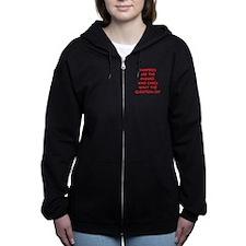 VAMPIRES Women's Zip Hoodie