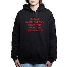 reading Women's Hooded Sweatshirt