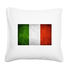 I Love Italy Square Canvas Pillow