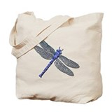 Dragonfly Canvas Totes