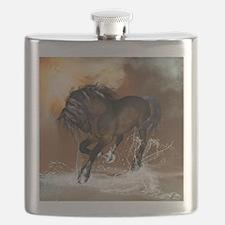 Beautiful horse Flask