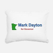 Dayton for Governor Rectangular Canvas Pillow
