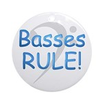 Basses Rule Ornament (Round)