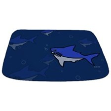 Shark Bathmat