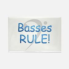 Basses Rule Rectangle Magnet