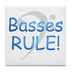 Basses Rule Tile Coaster