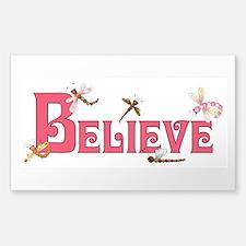 BELIEVE Sticker (Rectangle)