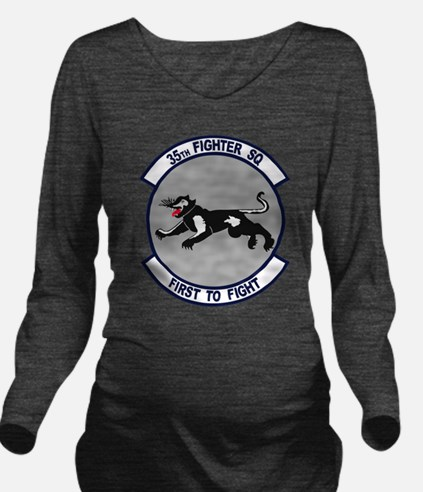 35th_fs_fighter_squadron.png Long Sleeve Maternity