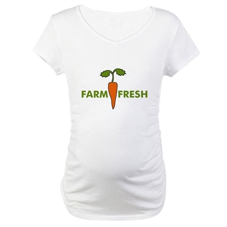 Farm Fresh Maternity T-Shirt