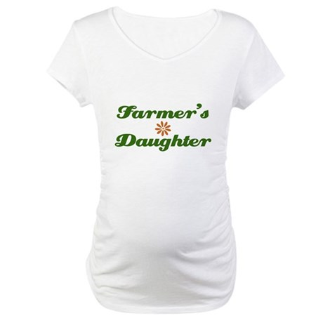 Farmer's Daughter Maternity T-Shirt
