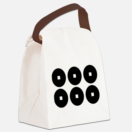 Six coins for the Sanada family Canvas Lunch Bag