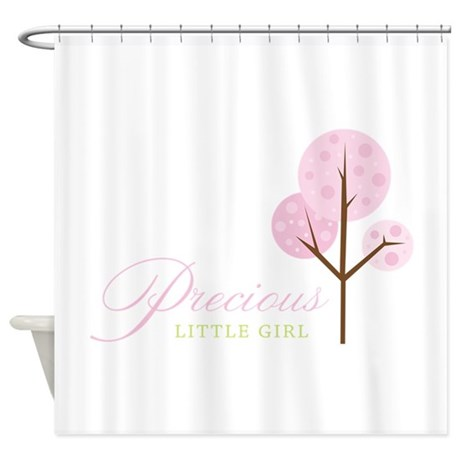 Precious Little Girl Shower Curtain By Concord16
