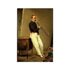 Horace Vernet Self-Portrait Rectangle Magnet