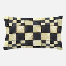 Cracked Tiles - Grey Pillow Case