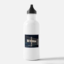 No Trespassing Water Bottle