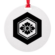 Rhombic flower with Swords in torto Ornament