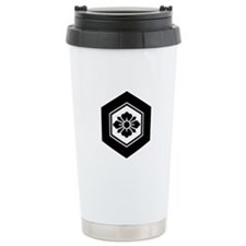 Rhombic flower with Swo Travel Mug