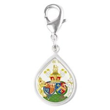 William and Catherine Royal Coat of Arms Charms