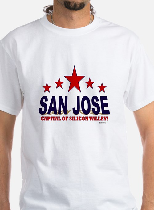 San Jose Capital Of Silicon Valley Shirt