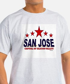 San Jose Capital Of Silicon Valley T-Shirt