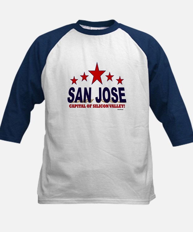 San Jose Capital Of Silicon V Tee