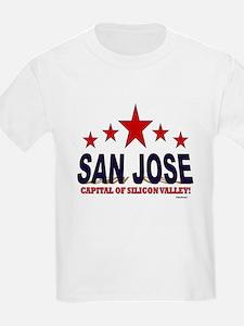 San Jose Capital Of Silicon Val T-Shirt