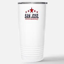 San Jose Capital Of Sil Travel Mug