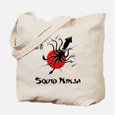 Squid Ninja Tote Bag