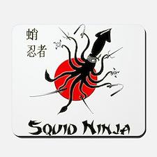 Squid Ninja Mousepad