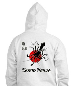Squid Ninja Jumper Hoody