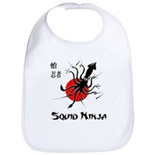 Squid Ninja Bib