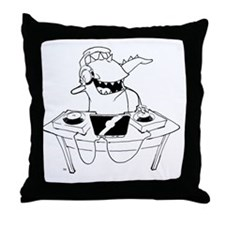 KMC - DJ Syd Throw Pillow