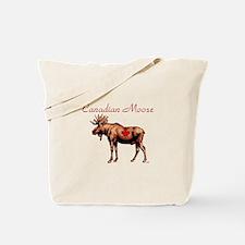 Canadian Moose Tote Bag
